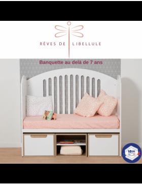 White Complete Baby Room Lit'bellule  - 4