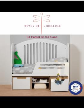 White Complete Baby Room Lit'bellule  - 5