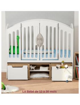 Chambre Bébé Complète Évolutive  - 4