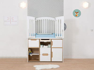 Complete scalable baby room